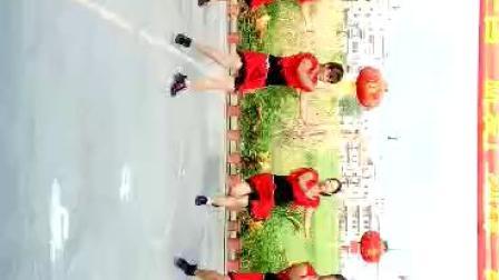 吴川市塘缀镇龙安舞蹈队(一曲相送)2016年北乡