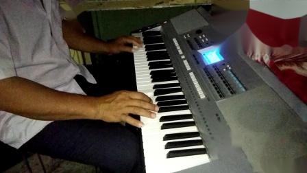 电子琴演奏〈〈天气预报背景音乐〉〉