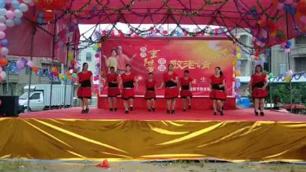 吴川市塘缀镇龙安舞蹈队二O一八年重阳节表演(深深爱)