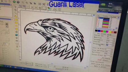 PLT文件编辑导入激光切割设备