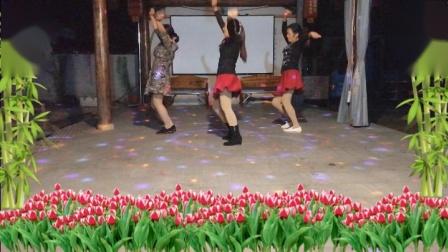 港口陈氏农庄广场舞(健身歌)32步-步子舞