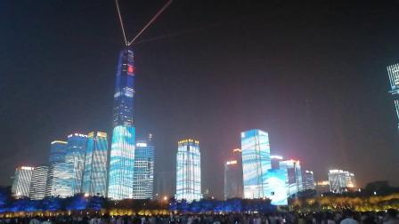 深圳市民中心灯光秀