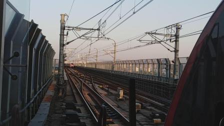 南京地铁二号线马群站。