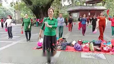赣州公园小妖们跳的舞蹈巜紫竹调》