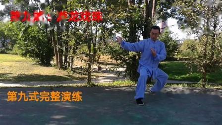 太极拳教学精讲:武当游龙太极拳内功养生九式之第九式(游龙戏珠)