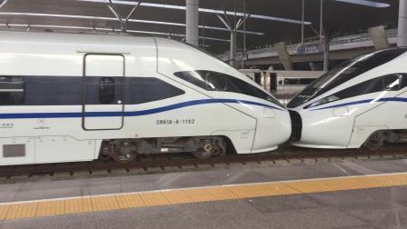 D3236次 CRH1A-A-1192~1200 杭州东站宁杭甬场4道发车