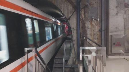 [杭州地铁]六编组二号线02027进凤起路站