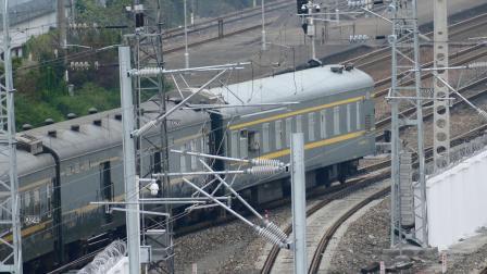 【亮点注意】K466附挂WX25K998945出绍兴站