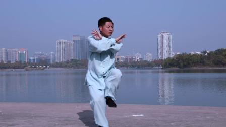 杨建平老师演示老年二十六式陈式太极拳