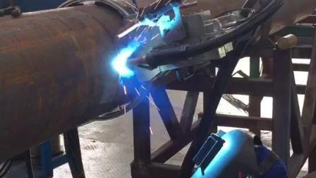 德平科技16英寸全自动焊根焊视频(壁厚10.6mm)