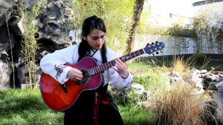 《秋窗风雨夕》叶锐文民谣吉他独奏
