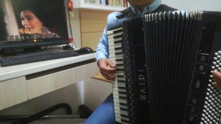 《边疆的泉水清又纯》(手风琴伴奏)