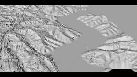 正方人合 山东正方航空 无人机航测服务 大面积山区地形三维地形模型航测成果展示