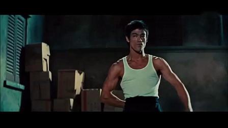 李小龙截拳道、李小龙腿法、双节棍、侧踢、寸拳与肌肉精彩剪辑专辑