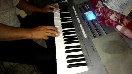 电子琴演奏〈〈美丽的草原我的家〉〉