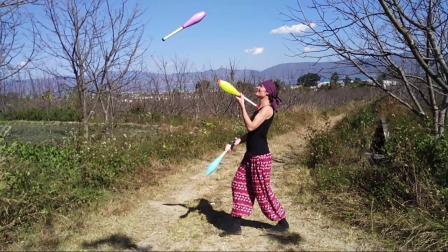 杂耍, juggling, Ani Pelu, anipelu.com