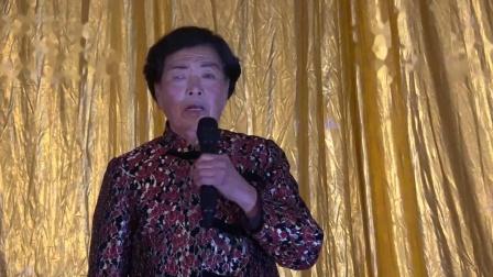定襄县晋剧演唱会《卖画劈门》演唱:王连英八十岁