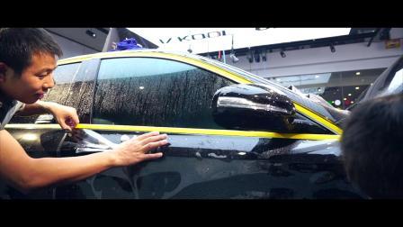 UPPF-奔驰E300L施工