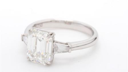 #JCRW05424172# 3.02克拉 白钻 戒指