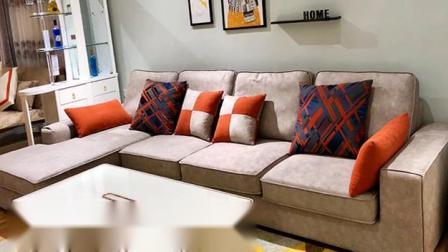 这是最近的可比优居网红布艺沙发