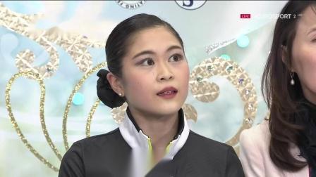 2018-19赛季NHK Trophy Ladies FS -宫原知子 Satoko MIYAHARA(JPN)