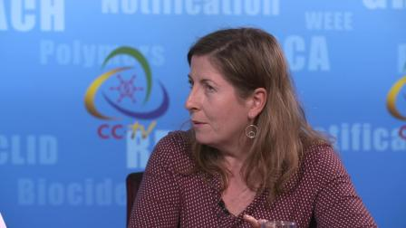 Interview on microplastics with Cristina de Avila from the DG environment