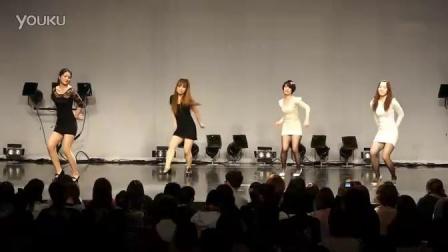 美女模仿Wonder Girls - Tell Me的爵士舞_高清