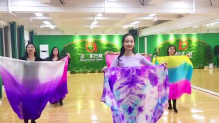 庆东方舞-中级班纱巾舞《水莲》