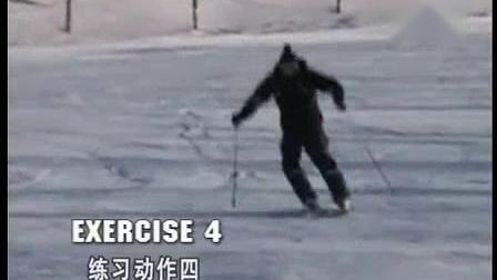我在奥地利滑雪教学1截了一段小视频