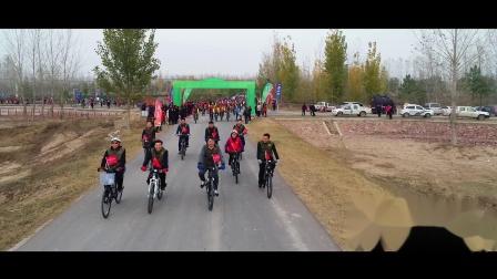 黄河湾风景区千人骑行航拍高清集锦