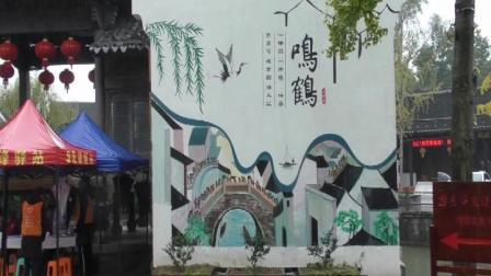 跨杭州湾大桥游鸣鹤古镇