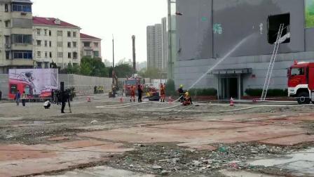 HUSQVARNA遥控破拆机器人上海消防演练