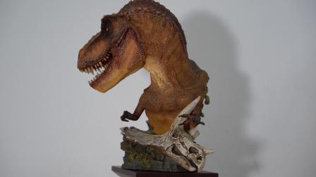 dam霸王龙雕像