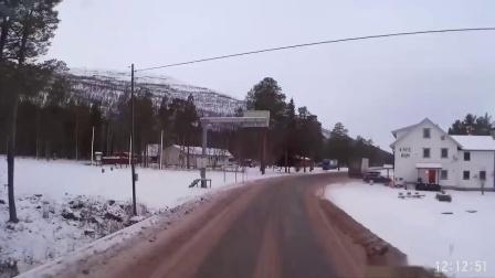 2015初冬货车驾驶 挪威