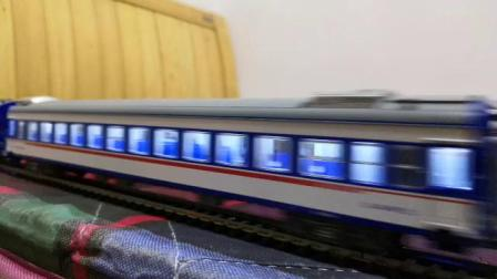L102次临时旅客列车通过崇德站