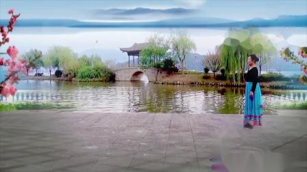 藏舞《水中月亮》编舞毛淼雁、正反面演绎舞痴、摄像老七、制作新疆花儿
