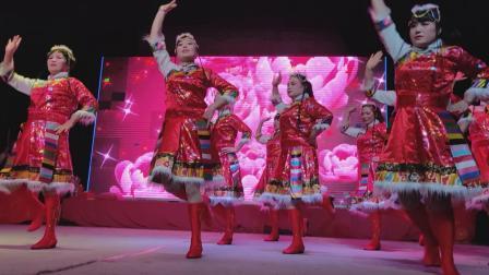 下金文化节舞蹈<爱我中华>