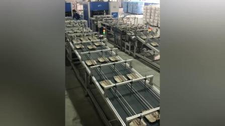 必硕科技——纸浆模塑设备全自动四面转鼓机械蛋盒生产线
