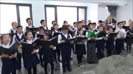 黄自:踏雪寻梅(片段)--霍洛韦童声合唱团- 卢长剑指挥