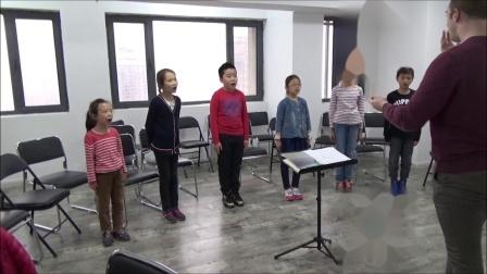 柯达伊: 《黄昏之歌》 (排练视频) 霍洛韦童声合唱团- 卢长剑指挥