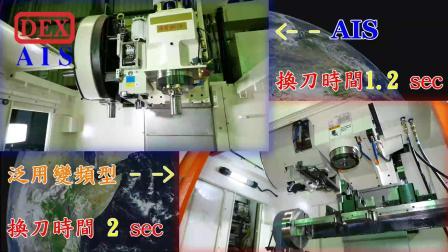 德士 AIS ATC 感應伺服快速換刀機構雙控制刀庫馬達 victor更換AIS1.2sec比較泛用變頻2sec