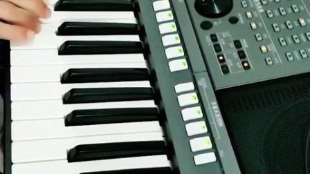 雅马哈电子琴弹奏【大海】