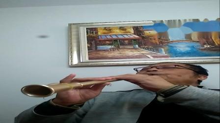 《思乡曲》校林荣萨克管吹奏/别有风味。
