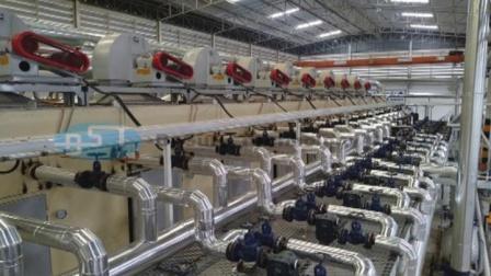 必硕科技——纸浆模塑设备四面转鼓机全自动蛋托生产线
