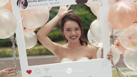 2018.11.28 胡裕常 梁江盈 婚礼席前回放