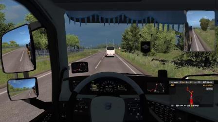 欧洲卡车模拟2波罗的海DLC 波兰北部至俄罗斯圣彼得堡运输