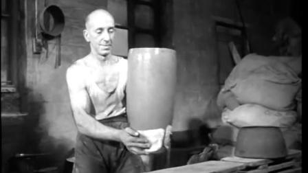 亨特斯曼钢铁厂的手工钢 约克郡 1949 british pathe纪录片