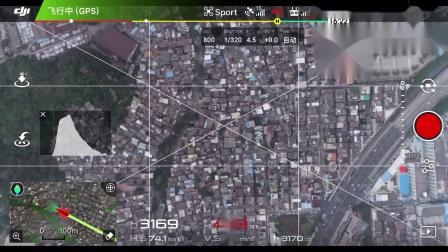 大疆精灵4prov2.0城市拉距半径4公里