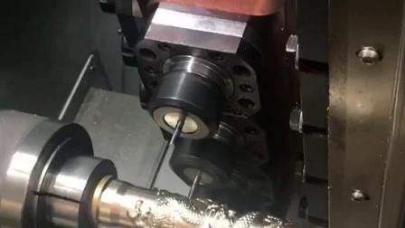 车铣复合加工视频-精弗斯-车铣复合机雕龙