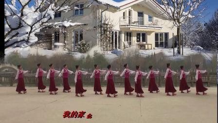 我的家乡下雪了 编舞 午后骄阳